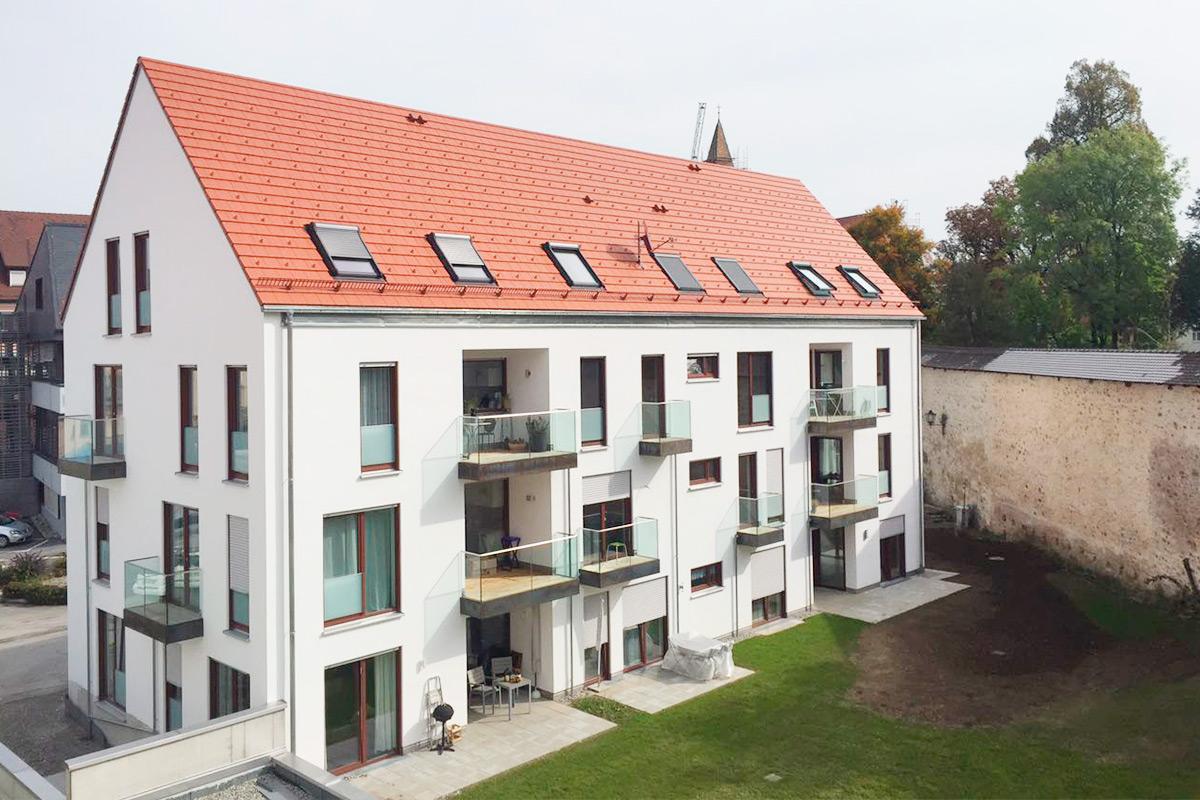 Isny, Südliche Altstadt, Hofstatt 4 + 6