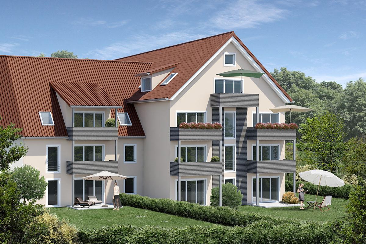 Leutkirch, Neubau von 16 Eigentumswohnungen